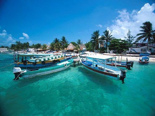 Paseo por Mexico Paseos en lancha en Isla Mujeres