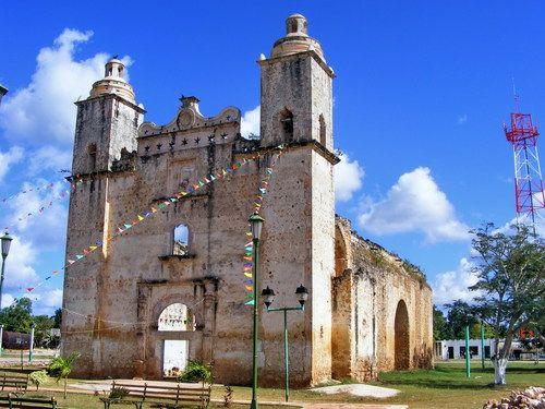 Paseo por Mexico La Parroquia de Saban en José María Morelos