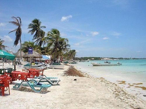 Paseo por Mexico Playa de Mahahual en Othón P. Blanco