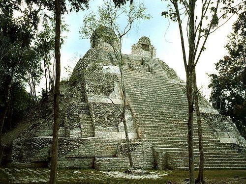 Paseo por Mexico Zona Arqueológica de Dzibanché en Othón P. Blanco