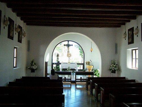 Paseo por Mexico Interior de Capilla de Nuestra Señora del Carmen en Solidaridad