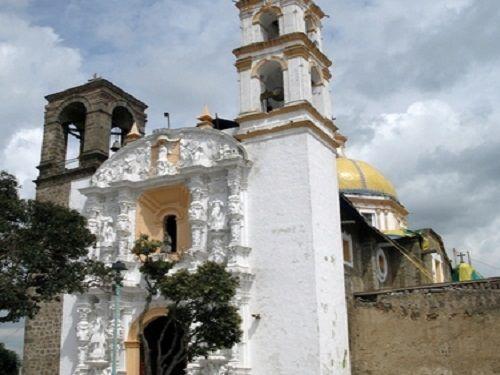 Paseo por Mexico Parroquia de San Antonio de Acuamanala de Miguel Hidalgo