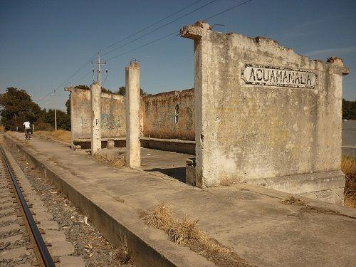 Paseo por Mexico Antigua estación de Ferrocarril de Acuamanala de Miguel Hidalgo