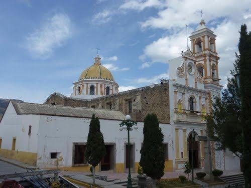 Paseo por Mexico Parroquia de Santiago Apóstol en Altzayanca