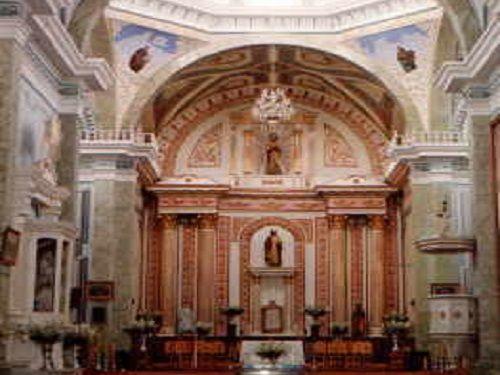 Paseo por Mexico Interior de la Parroquia de Santiago Apóstol en Altzayanca