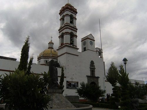 Paseo por Mexico Parroquia de San Bernabé en Amaxac de Guerrero