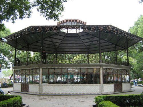 Paseo por Mexico Kiosco de Apizaco