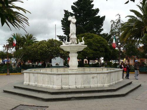 Paseo por Mexico Fuente de Calpulalpan