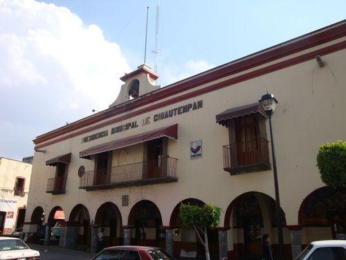 Paseo por Mexico Palacio Municipal de Santa Ana Chiautempan