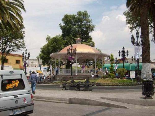 Paseo por Mexico Kiosco de Santa Ana Chiautempan
