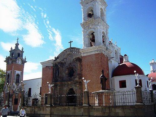 Paseo por Mexico Parroquia de Nuestra Señora de Santa Ana Chiautempan
