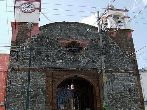 Paseo por Mexico Capilla del Sagrado Corazón en Chiautempan