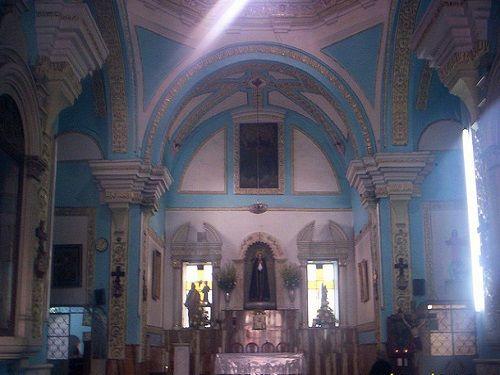 Paseo por Mexico Interior del Templo de La Soledad en Chiautempan