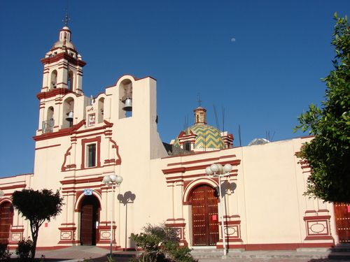 Paseo Por Mexico Parroquia De San Cosme Y Damian En Mazatecochco